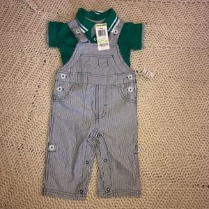 First Impressions overalls and shirt
